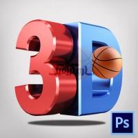 آموزش فعال کردن منوی 3d در فتوشاپ