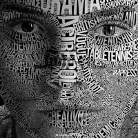 آموزش حرفه ای تایپوگرافی بر روی صورت