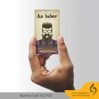 دانلود رایگان لایه باز کارت ویزیت آرایشگاه مردانه