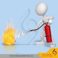 دانلود مجموعه تصاویر کپسول آتش نشانی با فرمت PNG
