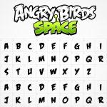 دانلود فونت لوگوی Angry Birds