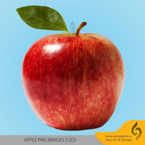 دانلود مجموعه تصاویر سیب با فرمت PNG