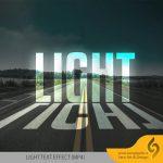 آموزش ویدیویی ایجاد افکت متنی Light در فتوشاپ